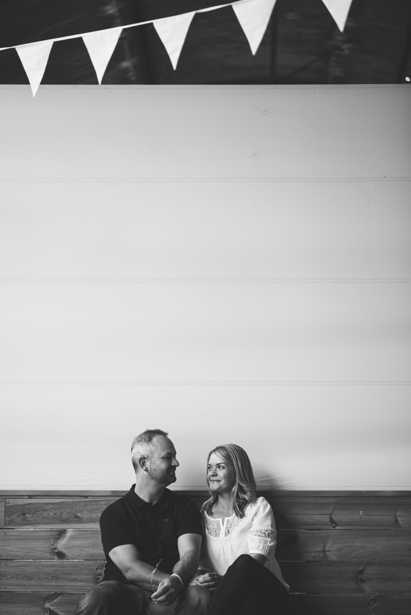 Barn at Dalduff Farm Engagement Session