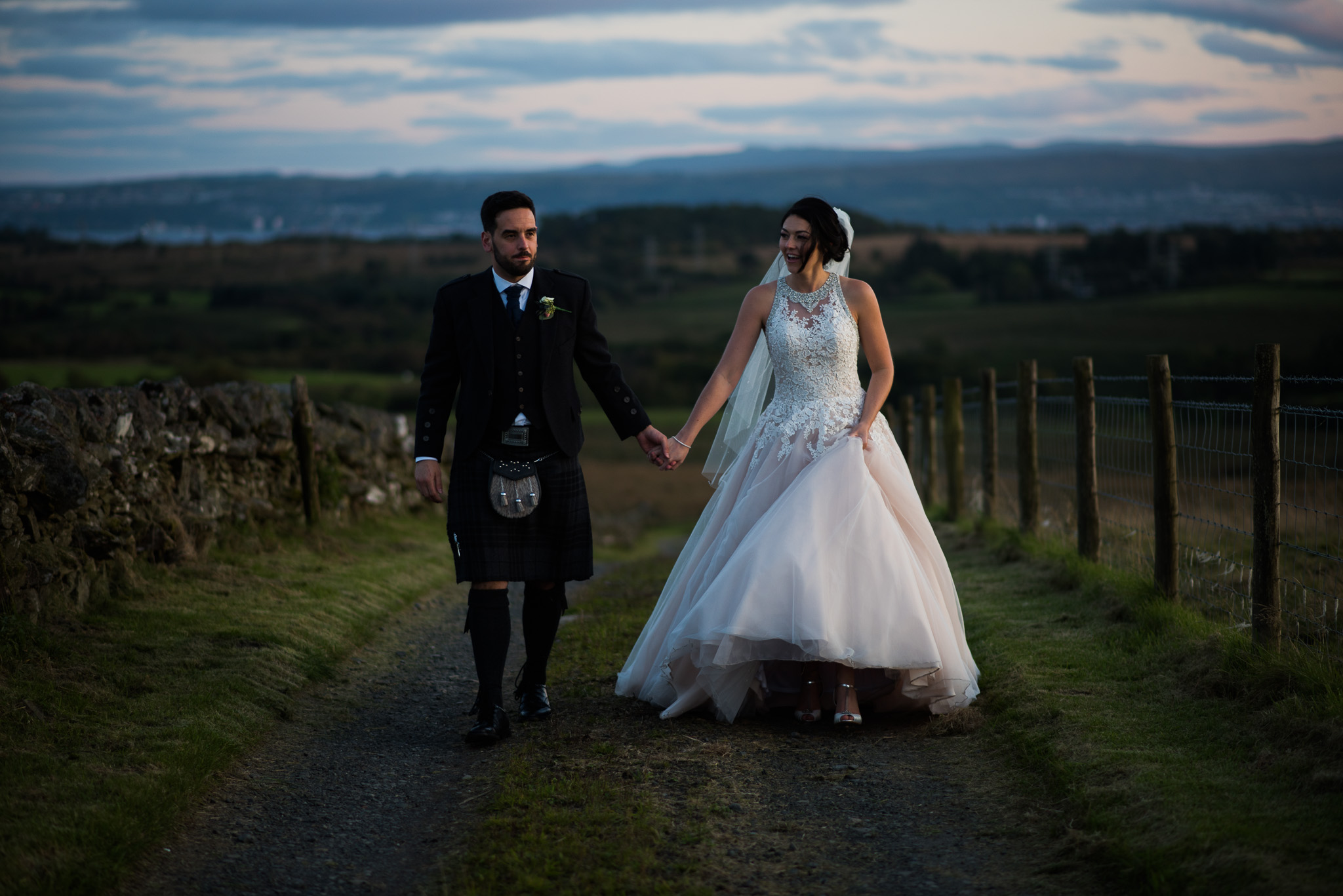 A Cruin Wedding near Loch Lomond