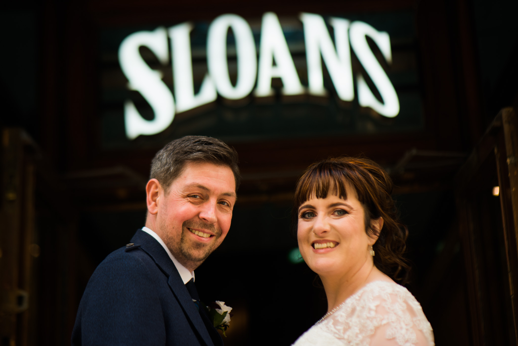 Sloans Wedding
