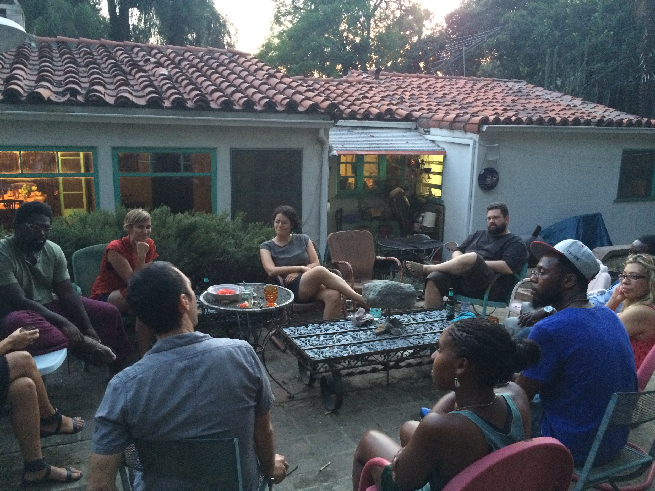 photo from the August Gathering, by Leah Laird