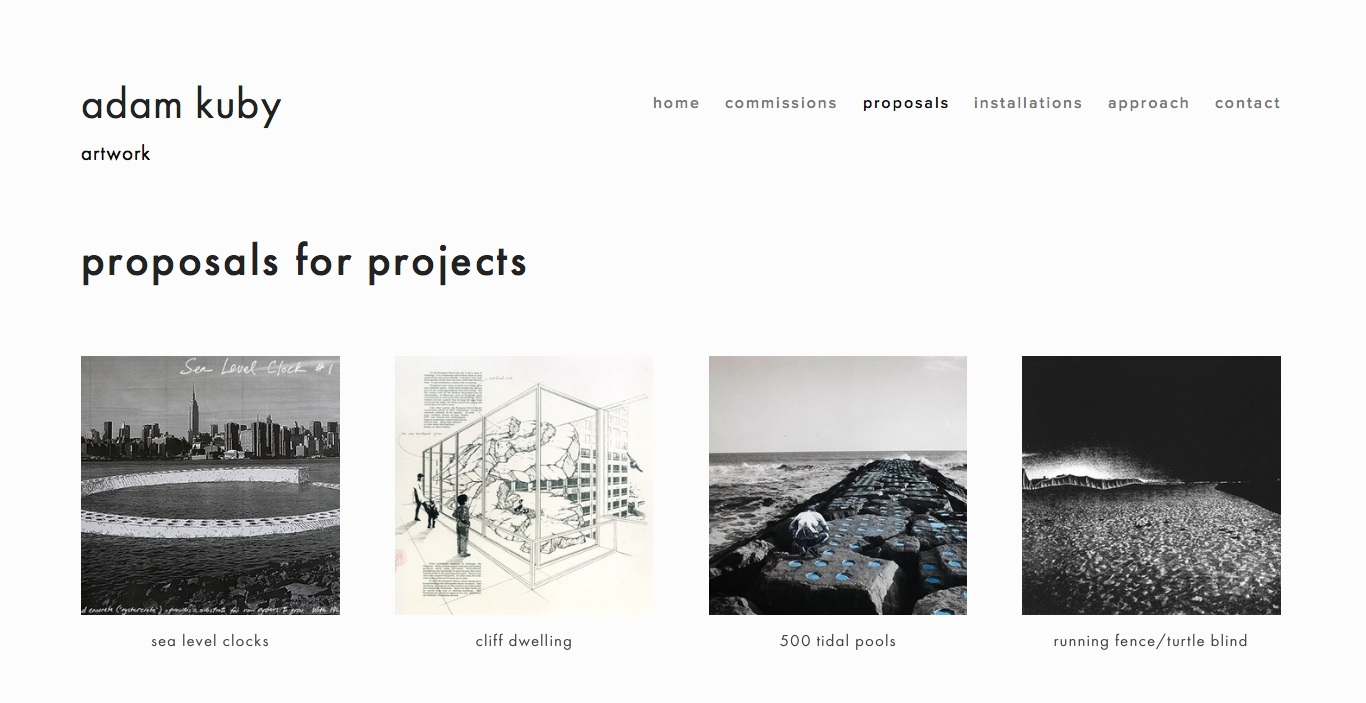 Portland artist  Adam Kuby .  Visit this site.