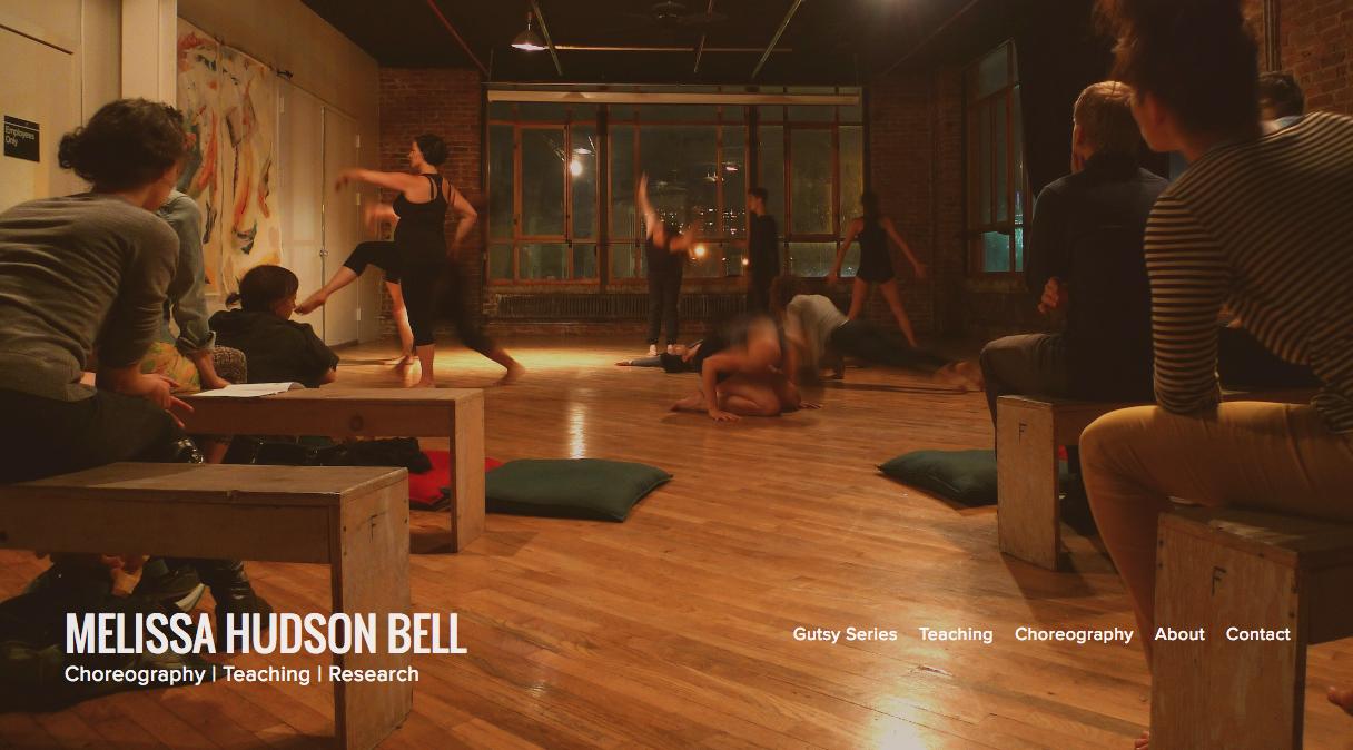 Melissa Hudson Bell , choreographer.  Visit this site.