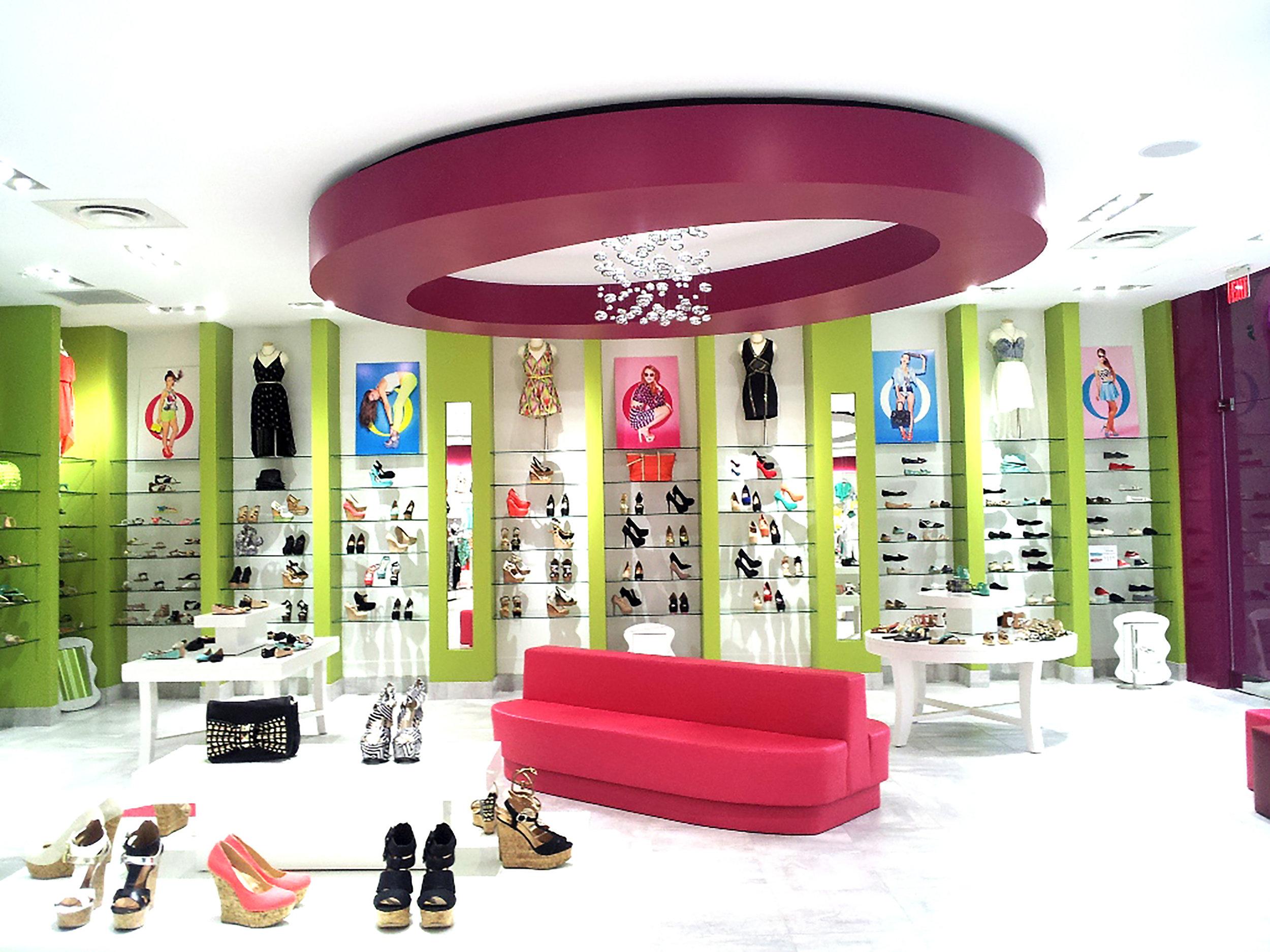 Interior View: A'GACI Clothing Store