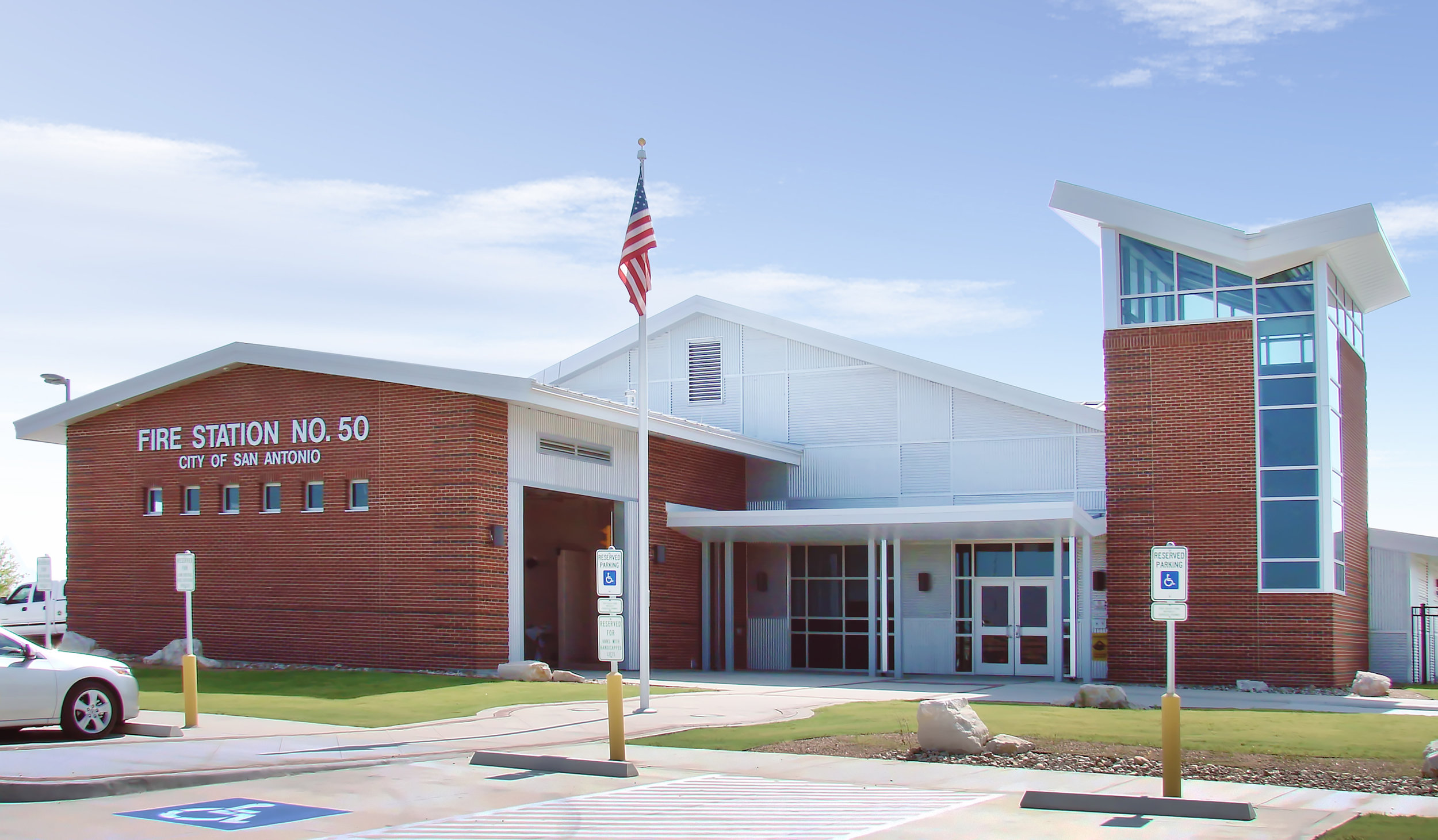 Exterior Image: City of San Antonio Fire Station No. 50 LEED Silver