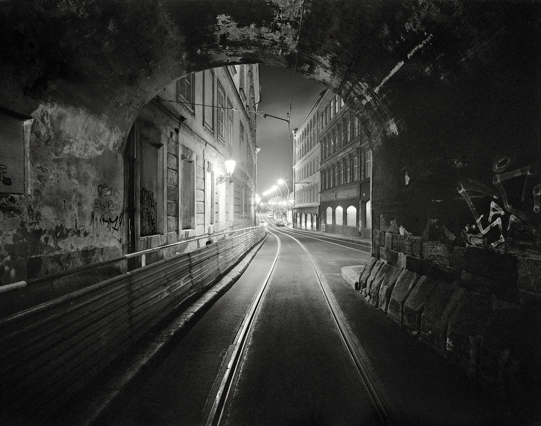 Prague Night Tunnel-spotted(m)16x20F.jpg