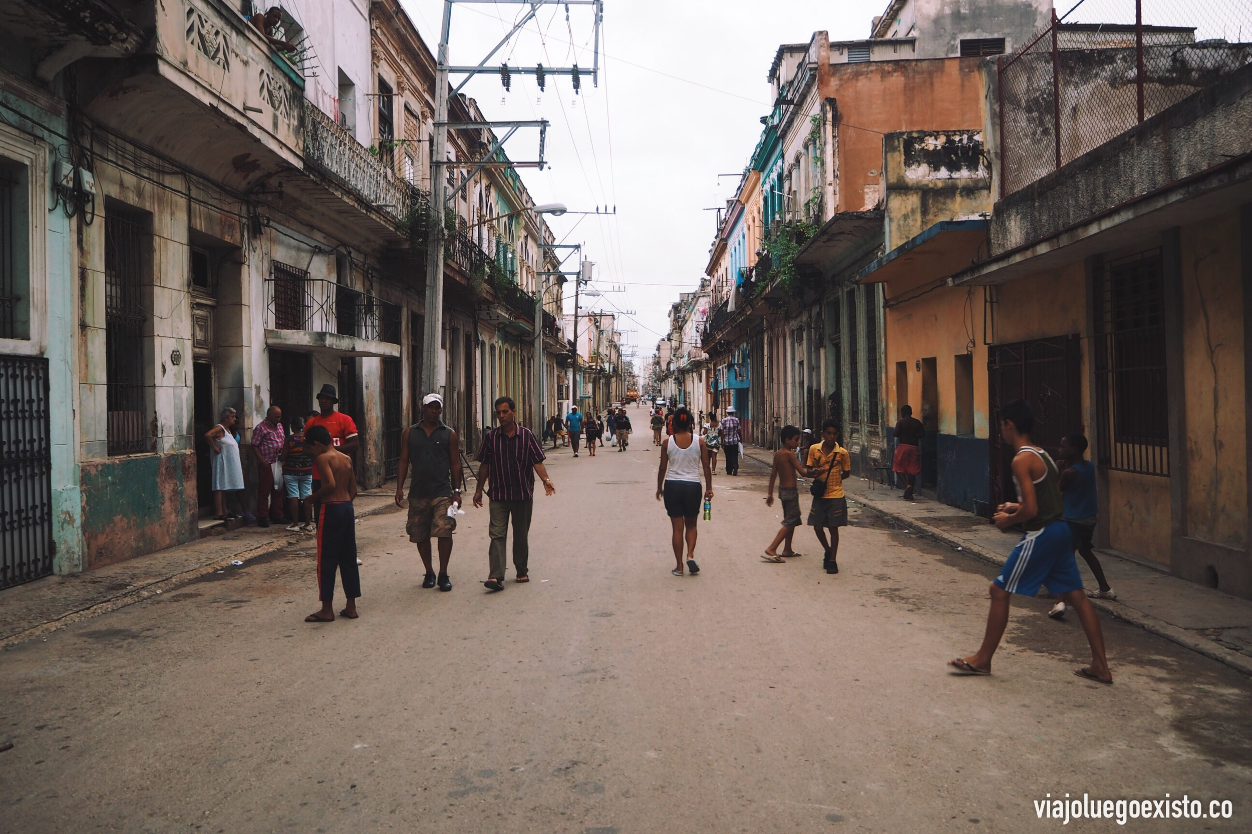 Calle San Rafael, en Centro Habana.