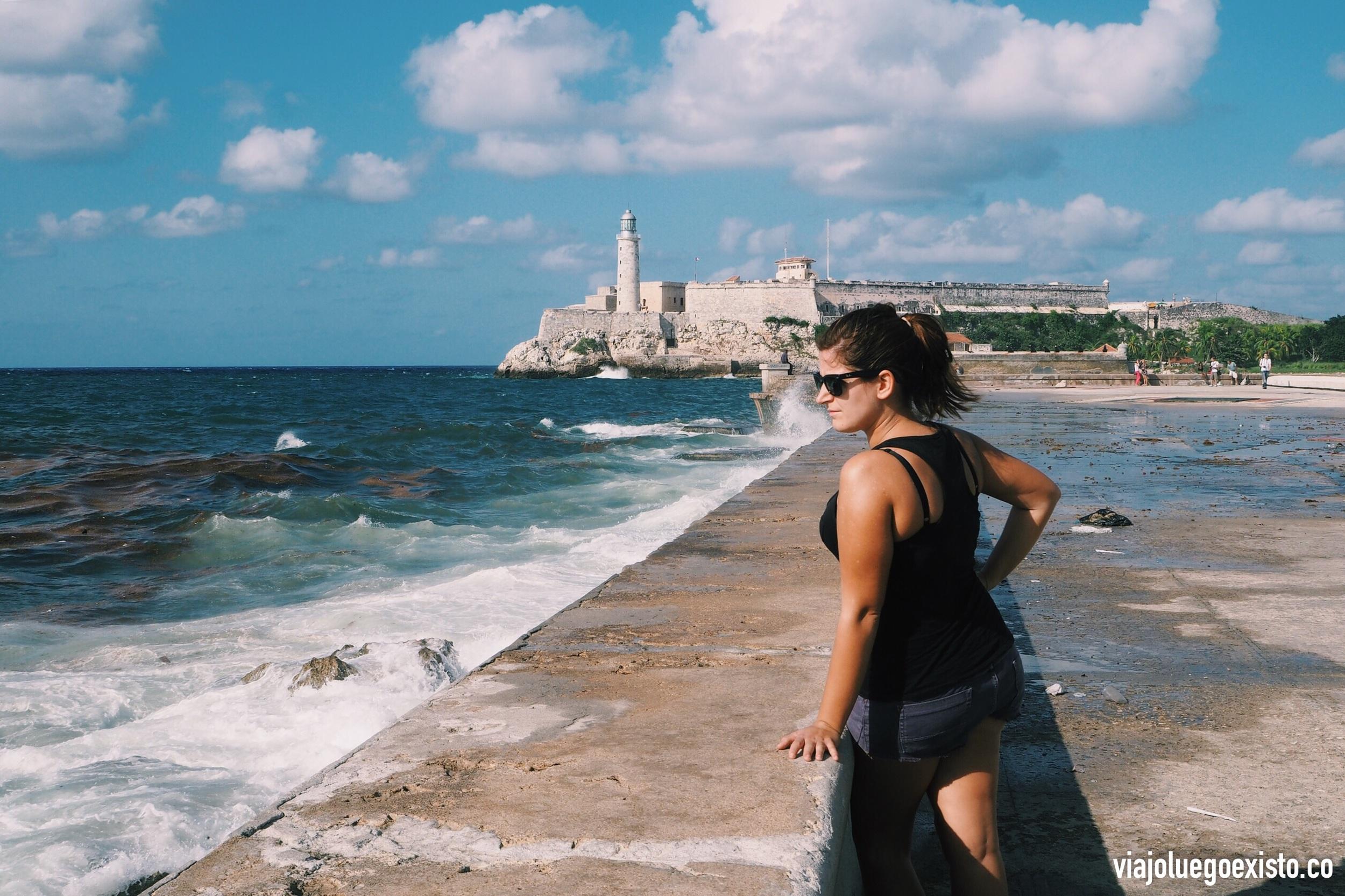 Castillo de San Salvador de La Punta, al lado de donde empieza el Malecón.