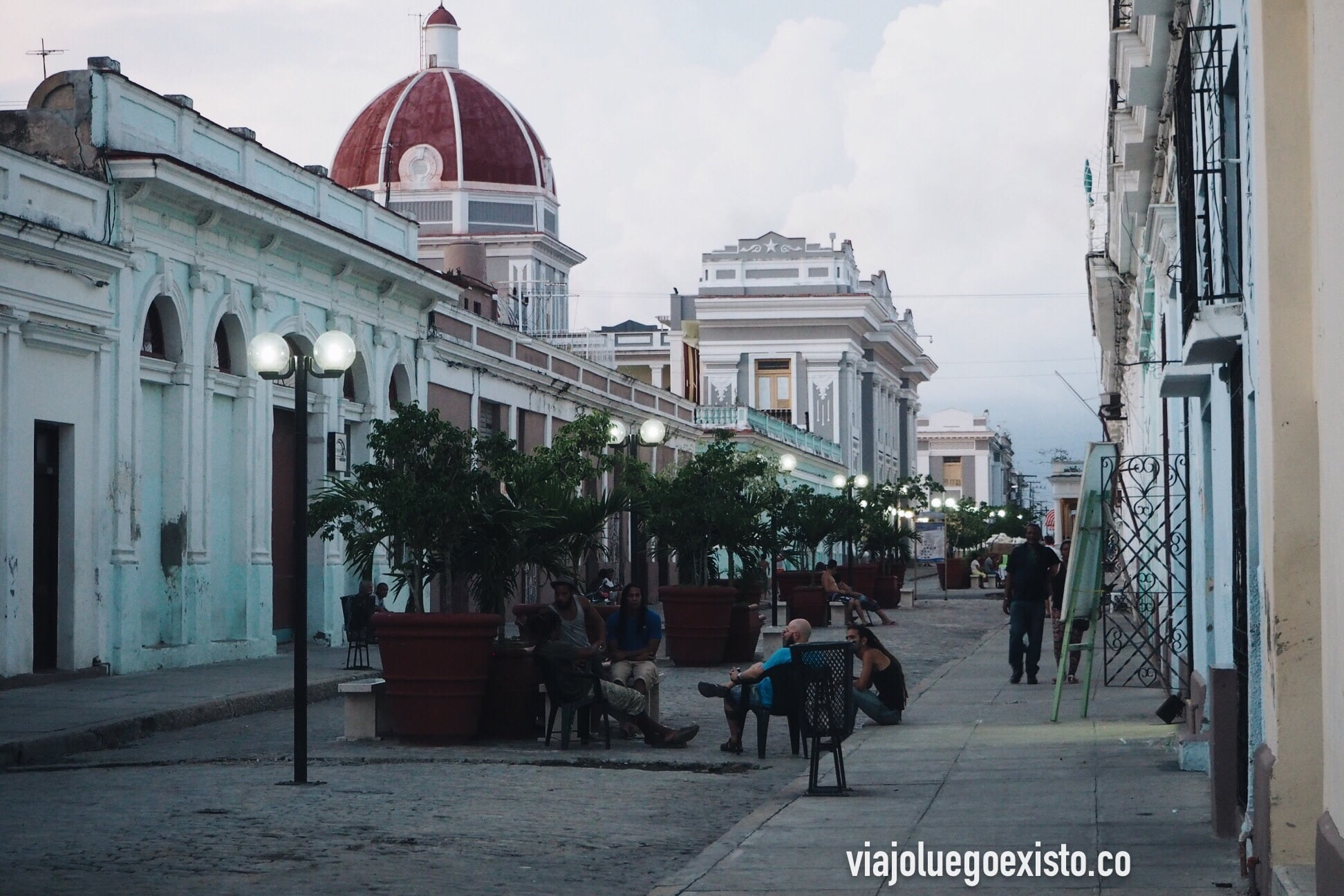 Centro histórico de Cienfuegos, Patrimonio de la Humanidad por la UNESCO.