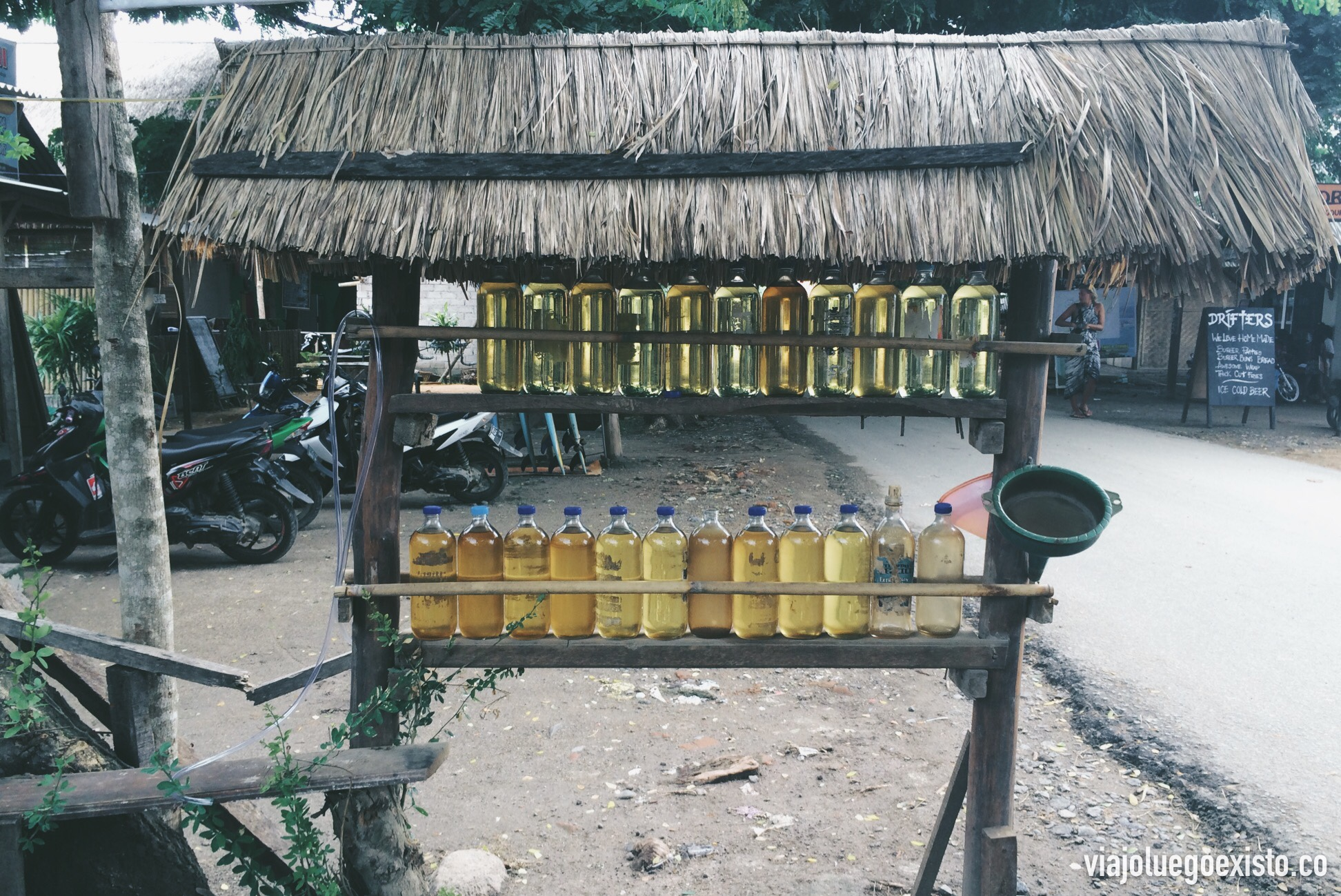 Gasolinera en Kuta Lombok