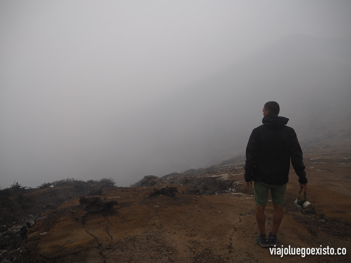 La cima del ijen