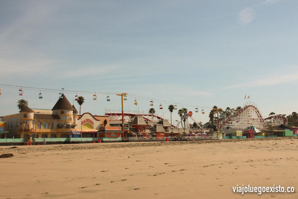 Parque de atracciones Santa Cruz Beach Boardwalk