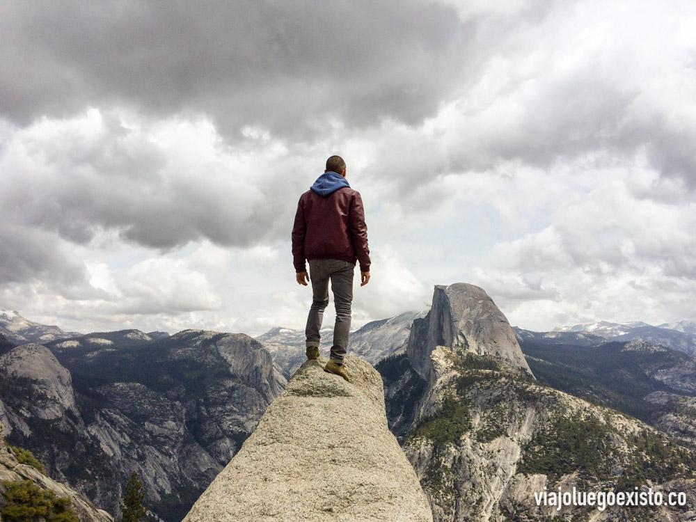 Yosemite desde el Mirador de Glacier Point