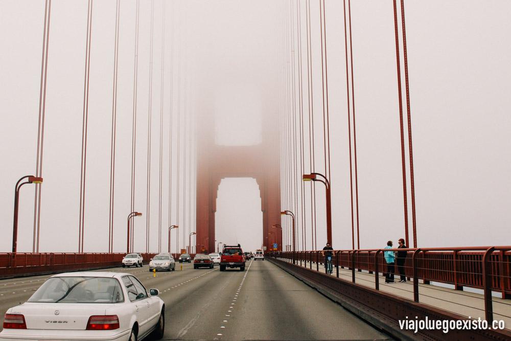 Atravesando el Golden Gate