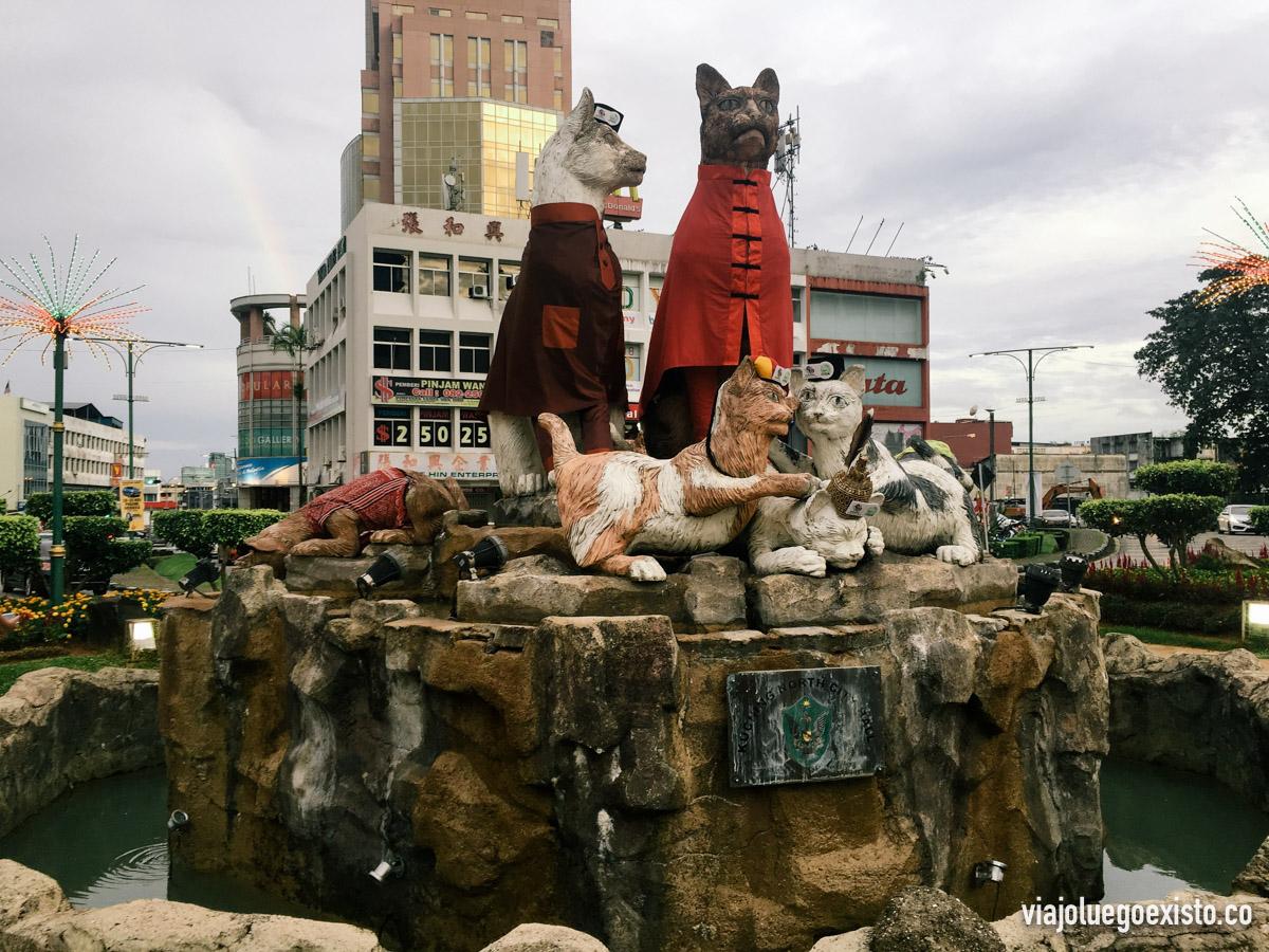 ¡Por algo conocen a Kuching como la ciudad de los gatos!