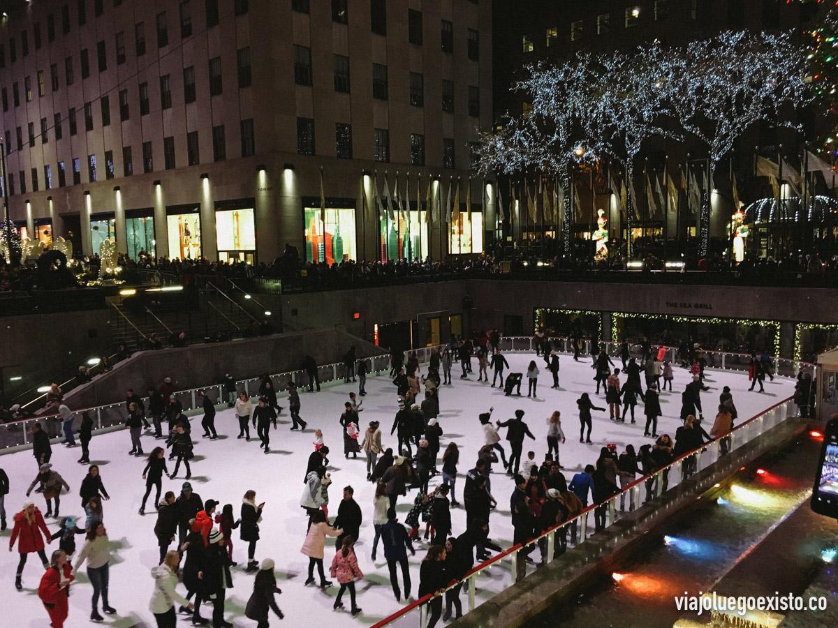 Pista de patinaje de Rockefeller Center