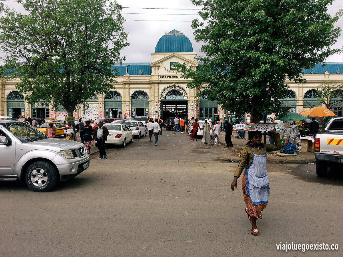 Fachada del Mercado Municipal de Maputo