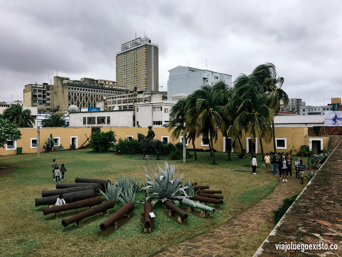 Panorámica de la fortaleza de Maputo