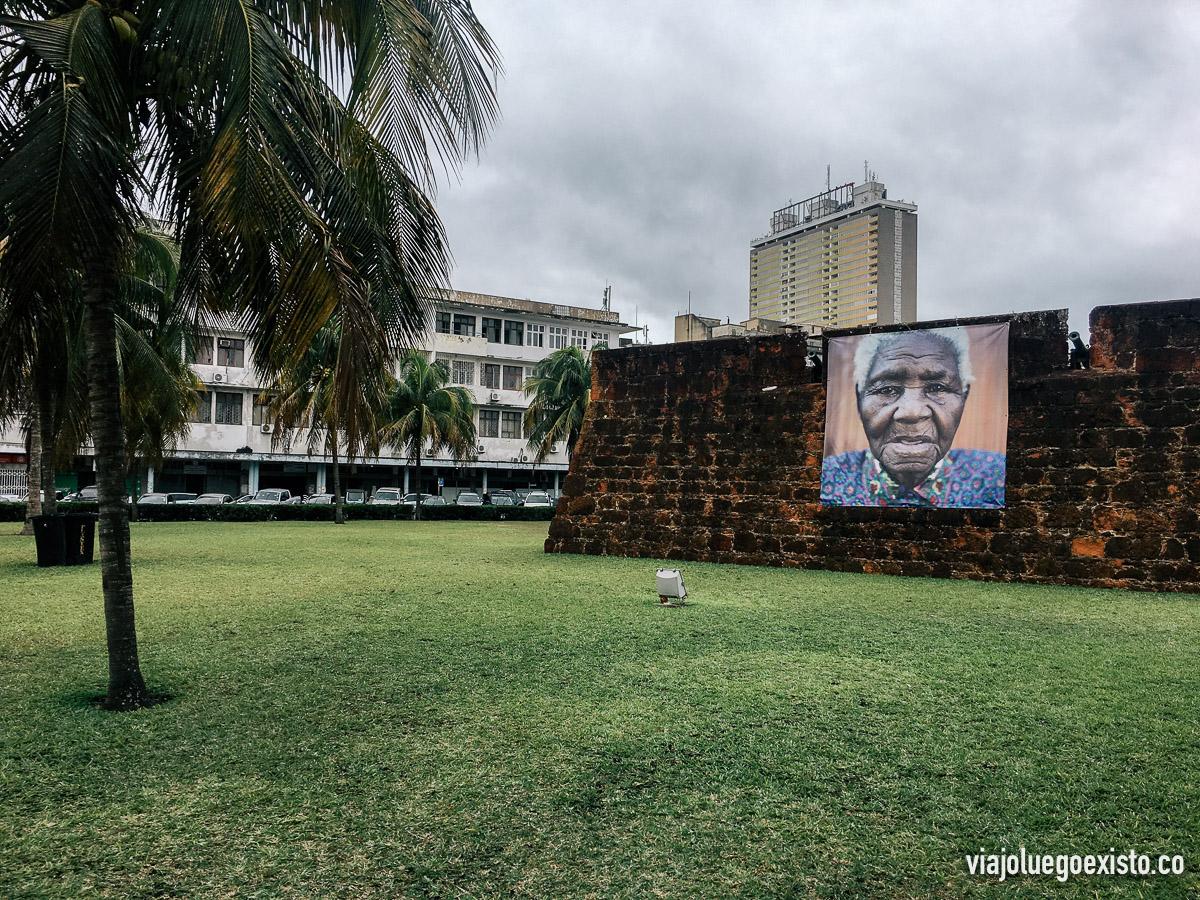 Exteriores de la fortaleza de Maputo