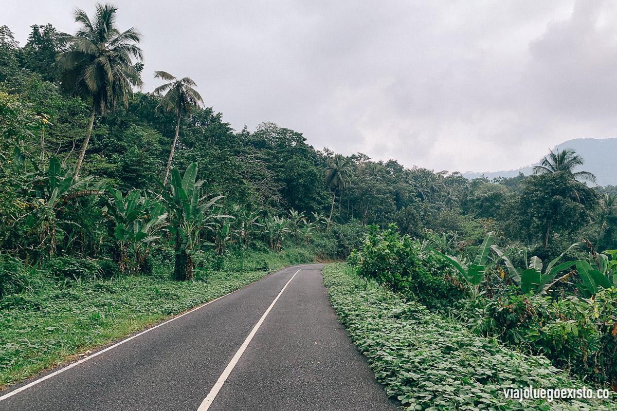 Así de increíbles y vacías son las carreteras de Santo Tomé