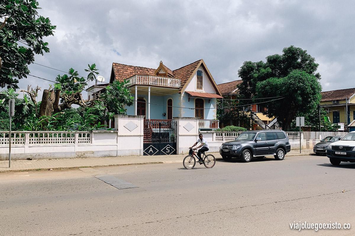 Bonita casas colonial en la capital