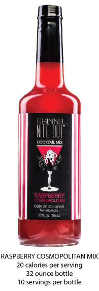 Skinny Nite Out Raspberry Cosmopolitan Mix