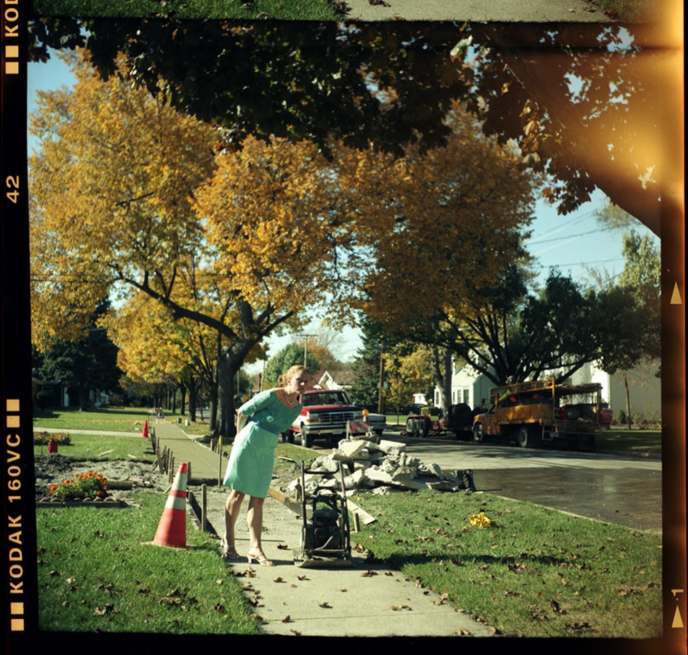 """Villa Park, IL  (2008)  Archival Inkjet Print, 30""""x 30"""""""