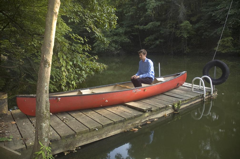 "The Canoe  (2009)  Archival Inkjet Print, 22""x 14.5"""
