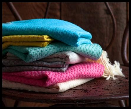 Luxe Turkish towels.