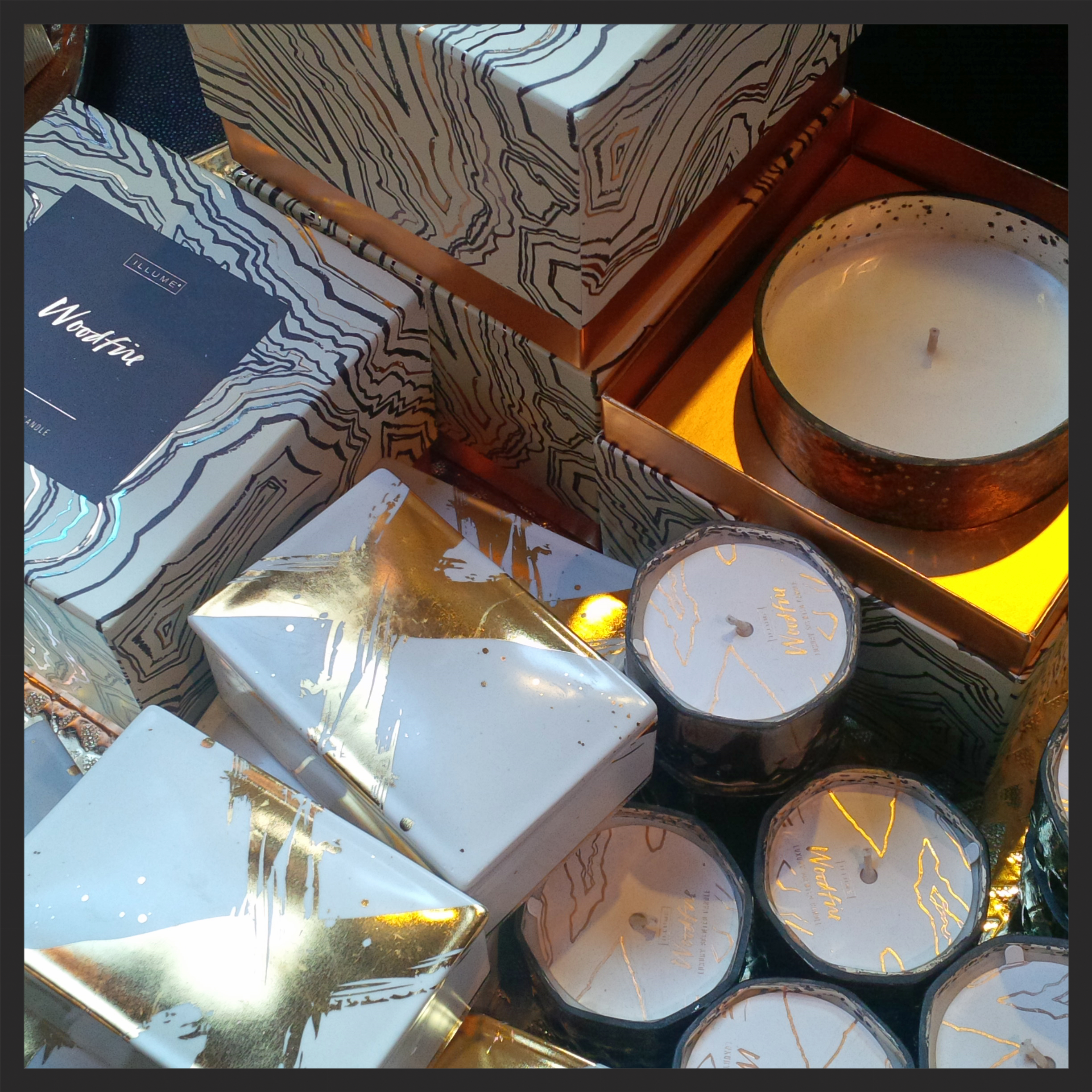 These decadent Illume candles are gift-wrap ready.