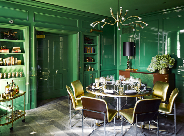 This glamorous space would surely lift your spirits during the holidays.