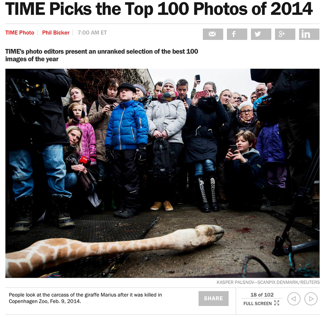 Very proud and honored to have a picture selected for TIME Top 100 Photos of 2014. So many talented and incredible colleagues on that list.
