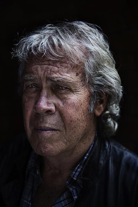 Legendary film director, writer and Tour de France commentator, Jørgen Leth. Shot for the Danish daily BT.