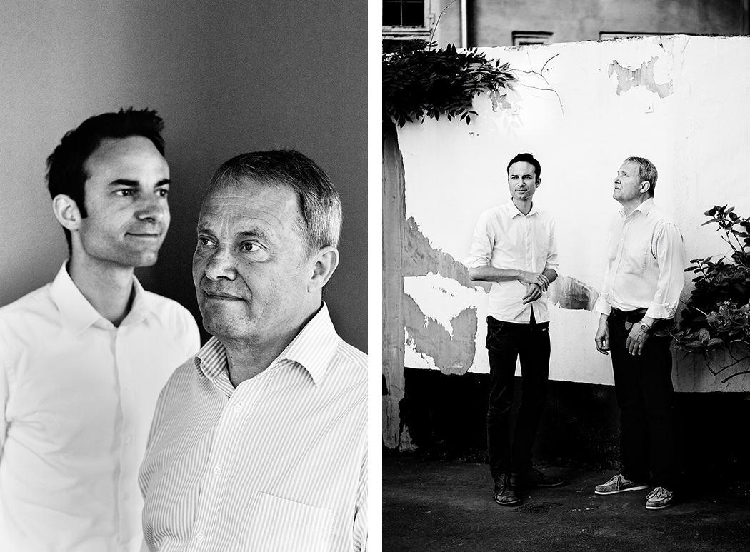 Kasper (left) and Niels Egelund (right) shot for Berlingske. Read the interview  here  (In Danish).