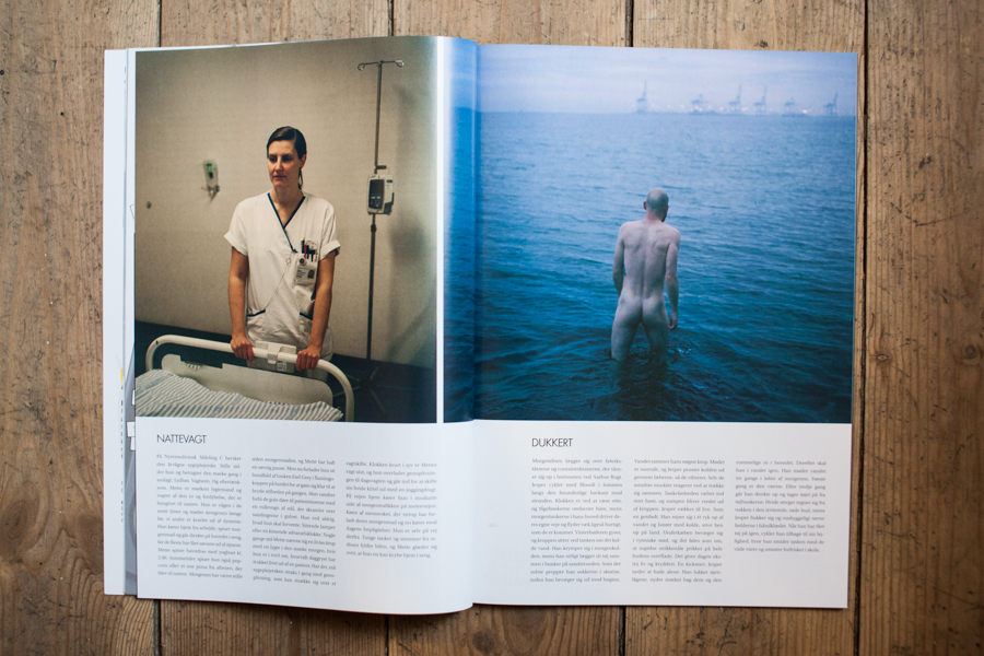 I have 2,5 spreads in the new issue of the magazine  CITAT  with a portrait series about morning routines. It is the anniversary issue (No 20) and I feel very honored to be a part of it.
