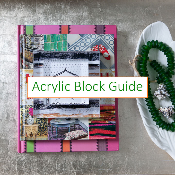 Are you looking for unique and affordable and reproducible versions of your artwork or photos? I created a video and PDF quick start guide outlining exactly how I create my blocks. Purchase now to get started and save yourself a lot of time and money so that you can print acrylic blocks with your images right away.