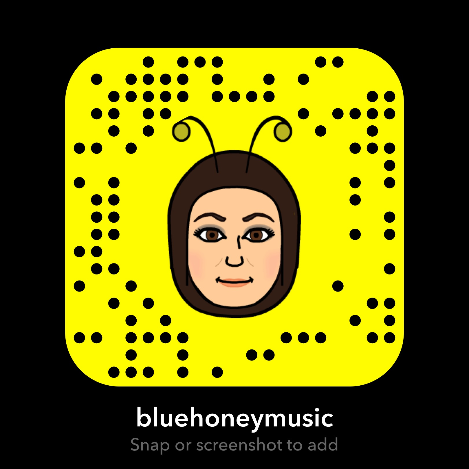 FOLLOW US ON SNAPCHAT! - @bluehoneymusic