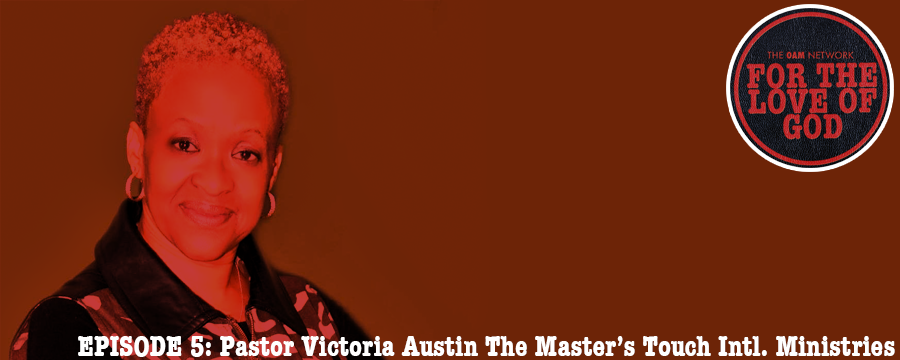 Victoria Austin is the Senior Pastor at The Master's Touch Intl Ministries, located in Millington TN. She was raised in Memphis, with a COGIC upbringing, but a long career in the Navy afforded her the opportunity to serve and minister around the globe. Listen to her insights on the ups and downs of ministry.
