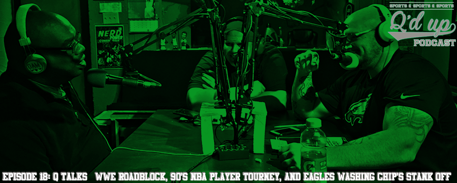 CJ and Q are joined by host of  Black Nerd Power  Markus Seaberry to discuss Eagles washing Chip's stank off, 90's NBA player tourney, and WWE.  Help support the show by making any regular purchase @  theoamnetwork.com/amazon