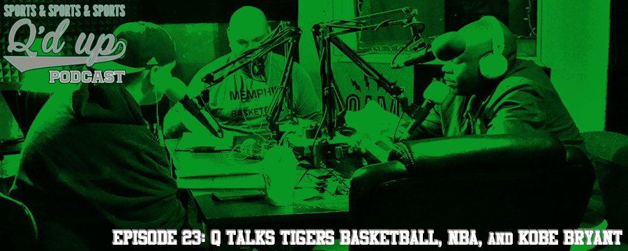 Q and guests discuss Memphis State basketball, go around the NBA, who had a better legacy Peyton vs. Kobe, and more!  Check out  Side Street Grill  for an exceptional night out! Good food! Good drinks! @ 31 Florence St. Memphis, TN