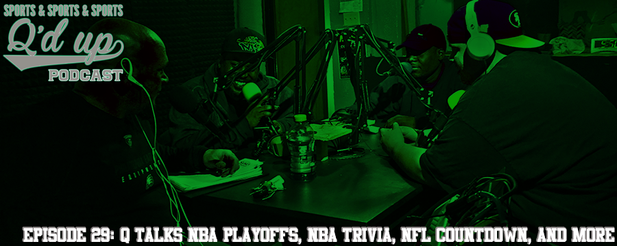 Q and guests break down the NBA playoffs, play NBA trivia, countdown to NFL season, and MORE!  Check out Side Street Grill @ 35 S. Florence right here in Memphis, TN! Great food, Great drinks!