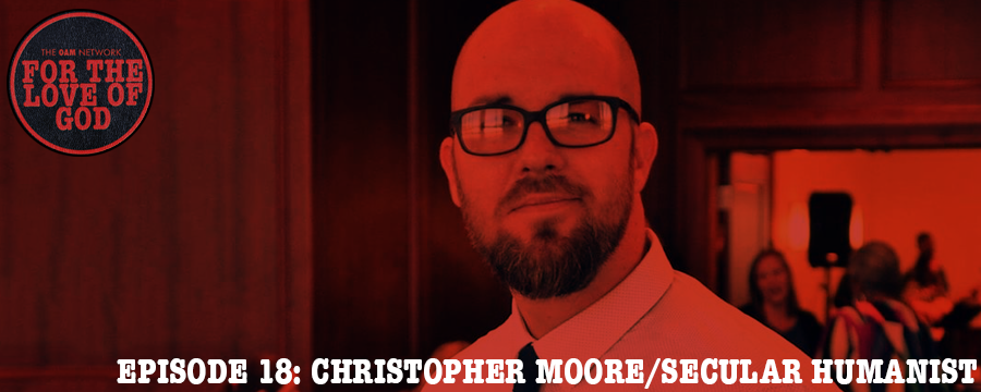 Christopher Moore is a Memphis native, residential recovery counselor & case manager in the Memphis area, and his beliefs are in Secular Humanism. Listen as we discuss the positives of belief, and the negatives of too much belief.