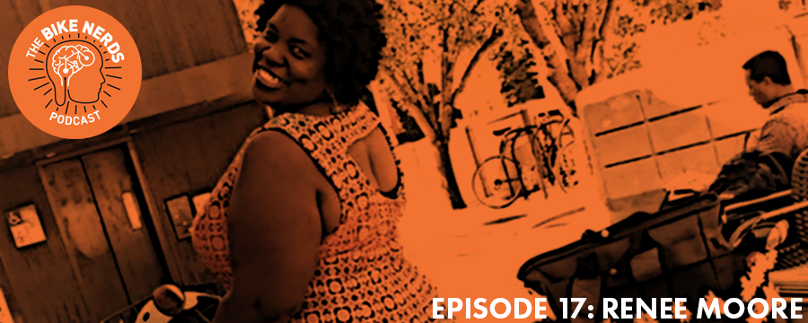 """Sara and Kyle sit down with """"Bicycling and the City"""" founder, Renee Moore to talk about her inspiration for getting more people in the DC regions out on bikes. Renee talks about the reason she started biking, why she loves getting other people on bikes, and a shared connection with Kyle over soybeans.  Help support the Bike Nerds and start your FREE Audible trial today @ audibletrial.com/oam"""