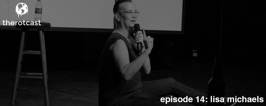 The Rotcast is back and we hit the ground running talking with Memphis comedian/musician Lisa Michaels. Lisa talks with us about the LGBT community in the United States and shares with us the hope that she has that LGBT issues will be further addressed in the coming years.