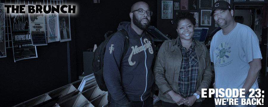After a short break, The Brunch returns to talk Thanksgiving festivities with the fam and post-election blues. We question Trump's appointees thus far and discuss the movie Moonlight, the latest episode of Insecure, and 13th.   Music :   Sunshine - The Stuyvesants (intro)  If You Call - Sharon Jones and the Dap-Kings   Every N*gga is a Star -   Boris Gardiner  Bitch Don't Kill my Vibe - Angéle Anise with Charlie Coffeen and Tyler Berg