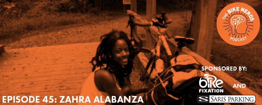 Continuing with theme of intersectionality in bicycling, this week's guest is Zahra Alabanza, co-founder of Red Bike & Green - Atlanta, a collective of Black urban cyclists improving the health, economy, and local environment of African Americans by creating a relevant & sustainable Black bike culture. Zahra chats with Sara and Kyle about the roll that RBG-ATL plays in advocacy in Atlanta, the ways in which Dr. King's legacy is still present today in the Georgia capitol, and her experience at The Untokening conference that took place in Atlanta this past fall.  The Bike Nerds Podcast is sponsored by Saris Cycling Group. Visit  www.sarisparking.com for a full array of bicycle parking and infrastructure products.