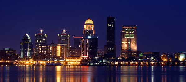 The Memphis cityscape looks breathtaking at night because the darkness obscures the crime.