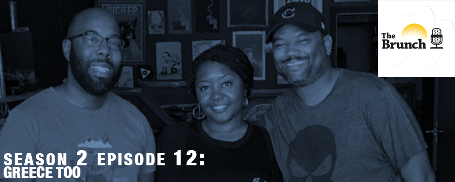 On this week's episode of The Brunch the gang discusses Maxine Waters', Ghost in the Shell and Kendrick Lamar's newest tracks.  Music:  (Intro) Sunshine - The Stuyvesants  Santorini Greece - Rick Ross Blessings - Lecrae  Humble - Kendrick Lamar