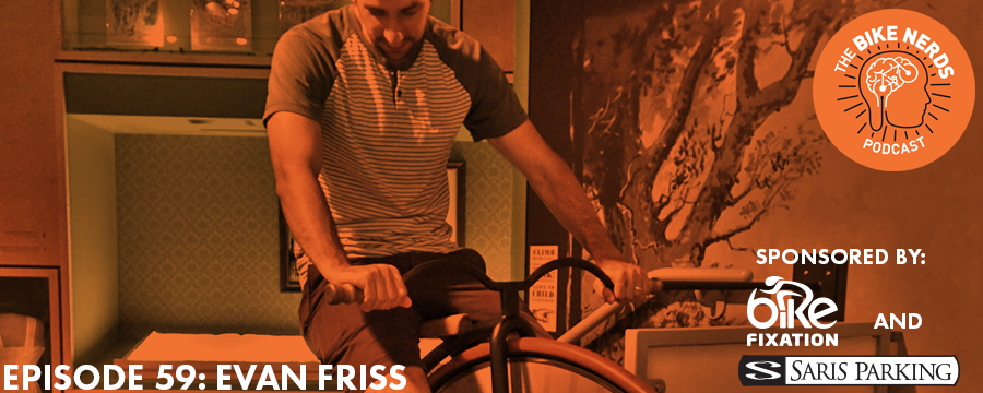 Our second guest talking about the History of Bikes is Evan Friss, an Assistant Professor of History at James Madison University and the author of The Cycling City: Bicycles and Urban America in the 1890s (2015). Evan holds a Ph.D. in History from the Graduate Center, City University of New York and an M.A. in History and a Certificate in Archival Management from New York University. Evan and the Bike Nerds discuss the rise and fall of bicycles at the turn of the 20th century, the legacy of bike advocacy created during that time, and the ways in which today's advocates are facing similar struggles to our urban ancestors.  The Bike Nerds Podcast is sponsored by Saris Cycling Group. Visit  www.sarisparking.com  for a full array of bicycle parking and infrastructure products.