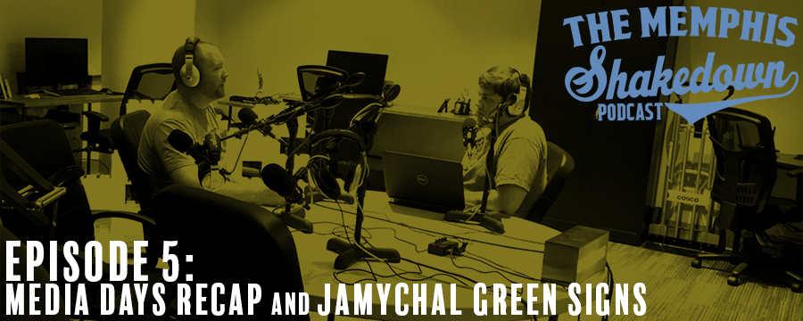 Josh and Phillip discuss everything that happened at Media Day, the new contract JaMychal Green signed, the Troy Daniels trade, and what the Grizzlies should expect for this season.