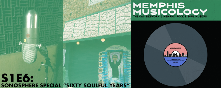"""via https://sonospherepodcast.com/2017/09/29/sixty-soulful-years-the-story-of-royal-studios/  This month Sonosphere teams up with the  Rock 'n' Soul Museum and the  Memphis Musicology podcast to bring you 60 years of Royal Studios. We visit with co-owner and music producer Boo Mitchell on a tour of Royal Studios in South Memphis.  Royal turns 60 this year and in this episode we'll reminisce with singer/songwriter Don Bryant on writing hit songs and singing with Willie Mitchell's band; legendary recording artist Ann Peebles and the magical night behind her hit """"I Can't Stand the Rain;"""" Memphis musician Scott Bomar on Willie Mitchell's legacy as teacher, producer and engineer of so many classic hits; and Amber Hamilton with the Memphis Music Initiative and the partnership they have with Royal to pass on its legacy to the future talent.  Come celebrate with Boo and the Mitchell family at the Levitt Shell on October 14th featuring local, regional and national artists and November 18th for the grand finale event at the Orpheum. For more information visit royalstudios.com"""